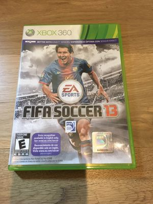 FIFA Soccer 13 for Xbox 360 for Sale in Apex, NC
