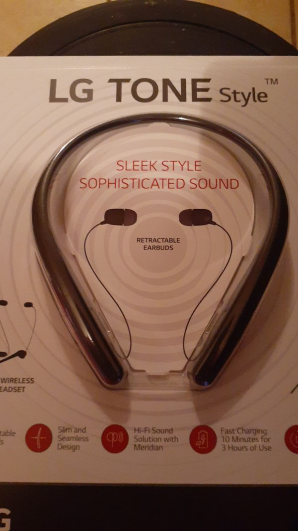 LG Tone Headphones
