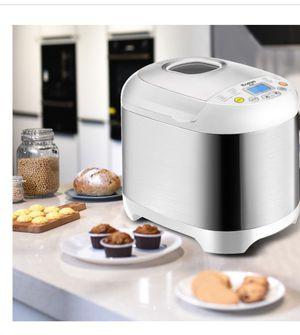 Stainless steel 2 LB 550 W Electric Bread Maker Machine Programmable for Sale in San Bernardino, CA