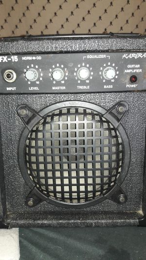 Karera electric guitar amplifier for Sale in Pittsburgh, PA