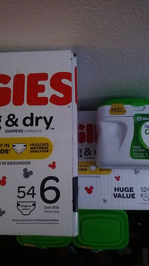 Huggies size6 and similac for Sale in Kent, WA