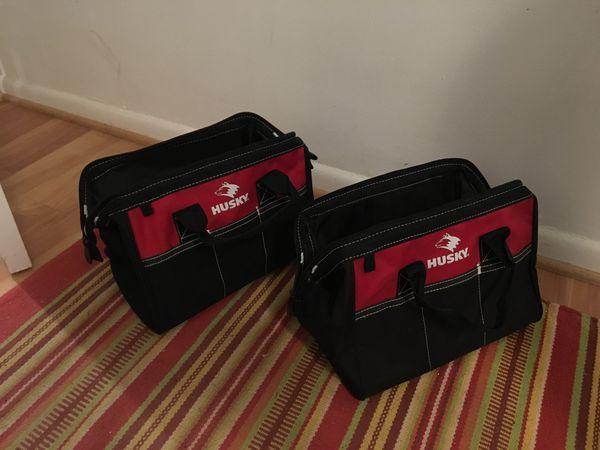 """Two 12"""" & 16"""" Husky Tool Bags"""