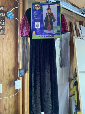 Witch Halloween Costume Kids 8-10 for Sale in Mukilteo, WA