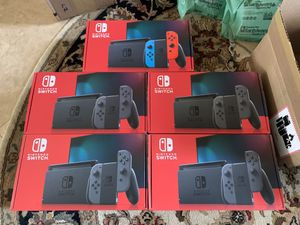 Nintendo Switch Console Gray 32gb for Sale in Plantation, FL