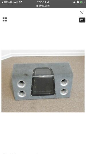 Audiobahn subwoofer and box for Sale in Santa Ana, CA