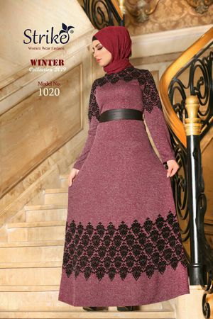 abaya dress ..made for sale  egypt....rich material.......size medium...color purple*black for Sale