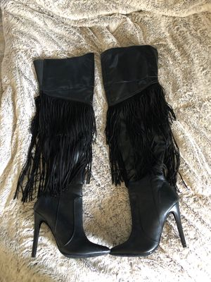 Black boots for Sale in Hacienda Heights, CA