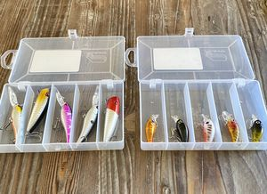 Must sell .. NEW FISHING LURES!!!! & Cases!! for Sale in Montclair, CA