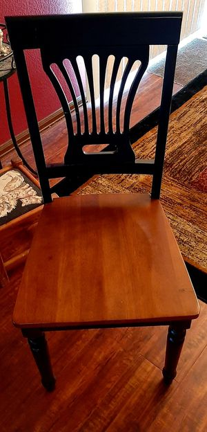 Nice Sturdy Wood Accent Chair for Sale in Aurora, CO
