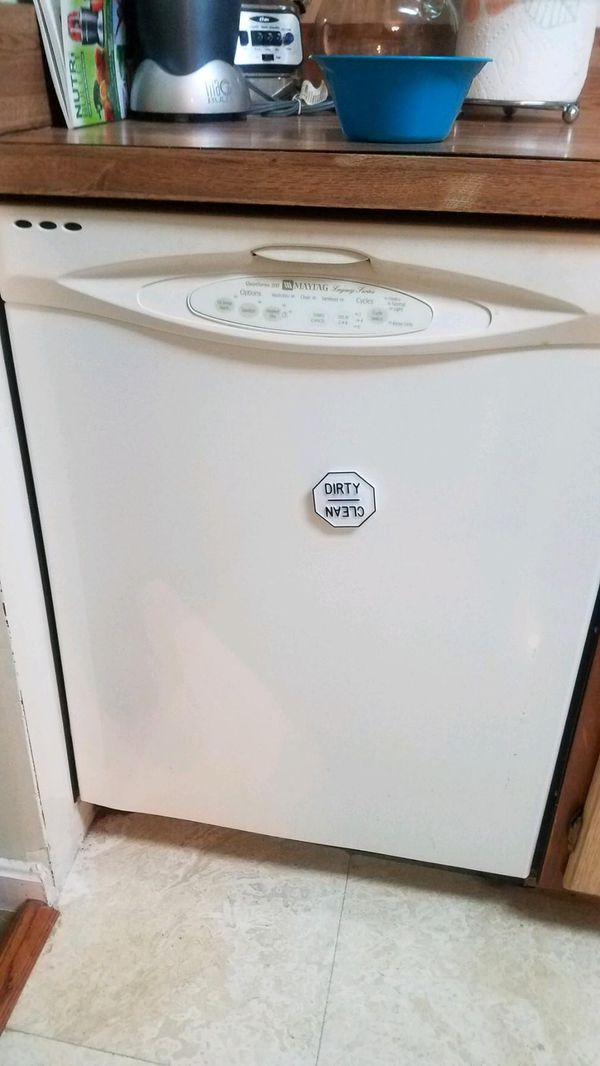 MAYTAG 4pc Egg White Kitchen appliances