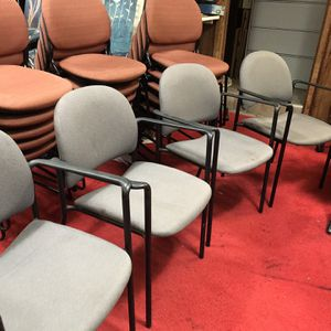 Chairs . Guest Chairs $25 Each. Reception Chair. Lobby chairs 4 For $100. for Sale in Tampa, FL