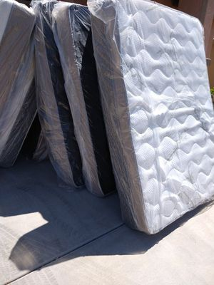 Queenbed and box spring same day deliver for Sale in Tempe, AZ