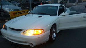1996 Mustang 4.6 black interior for Sale in Somerville, MA