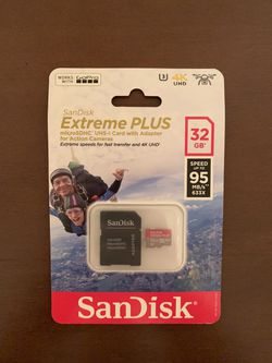 SanDisk Extreme Plus 32 GB for Sale in Waco,  TX