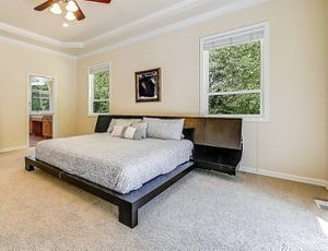 California king bedroom set - Bed-frame and dresser -$2,200 for Sale in Sammamish, WA