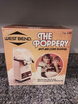 West Bend The Poppery #5459 Hot Air Corn for Sale in Gaithersburg, MD