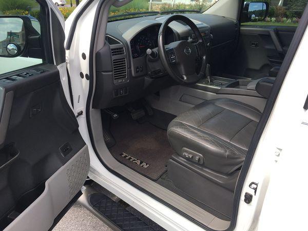 Pickup Truck 2004 Nissan Titan 4WD