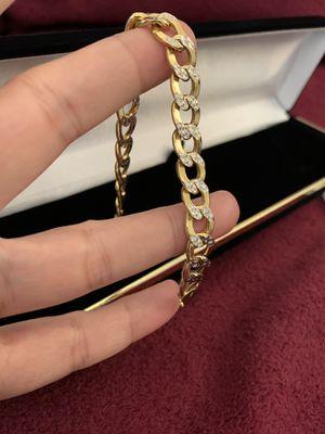 10k—-solid gold —-mens bracelet for Sale in Los Angeles, CA