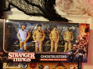 Stranger things mcfarlane action figures toys for Sale in Albany, NY