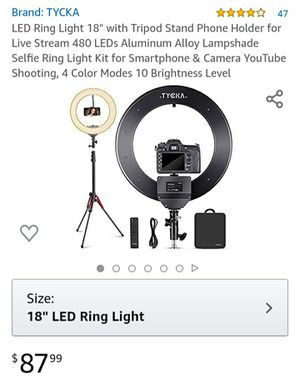 Ring light for Sale in San Diego, CA