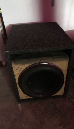 "12"" Custom Competition Car Subwoofer for Sale in Westbrook, ME"