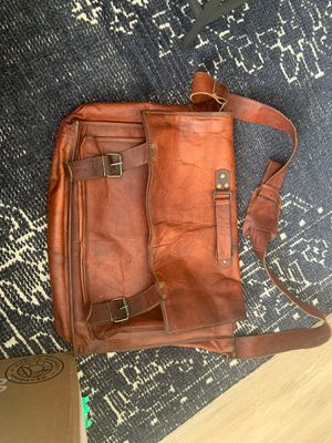 Large Leather Messenger Bag for Sale in Charlotte, NC