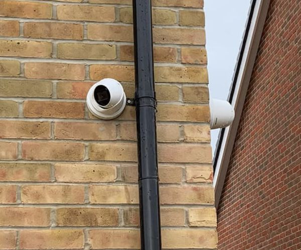 Security Camera System Installation