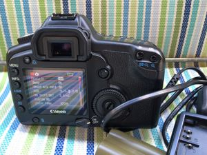 Canon EOS 5D Digital SLR Camera for Sale in San Marcos, CA