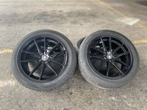 """17"""" 5x100 like new tires for Sale in Houston, TX"""