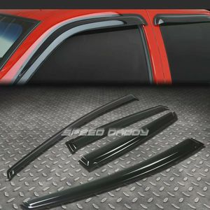 FOR 10-14 PRIUS XW30 4DR SMOKE TINT WINDOW VISOR SHADE/SUN WIND/RAIN DEFLECTOR for Sale in Germantown, MD