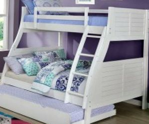 Bunk Beds Twin Over Full for Sale in Littleton,  CO
