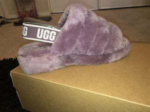 """""""FLUFF YEAH SLIDE"""" size 7 (New/Never worn) for Sale in Stockton, CA"""