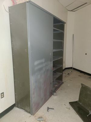 Metal cabinets and shelving for Sale in Salt Lake City, UT