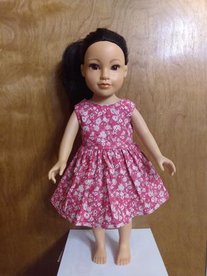 "American Girl Doll Dress Made to Fit 18"" inches Dolls for Sale in Peoria, IL"