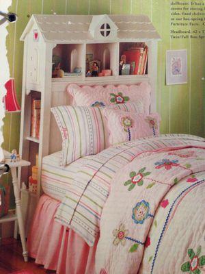 Pottery Barn Kids Dollhouse Headboard/Bookshelf for Sale in Haverhill, FL