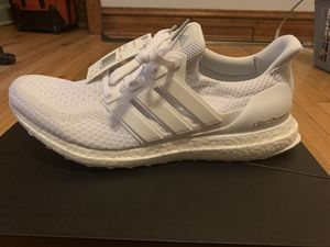 Adidas Ultra Boost 2.0 Triple White Size 12 NEW for Sale in Chicago, IL