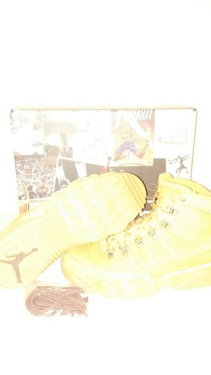 Air Jordan NRG 9 boots size 9 FOR THE LOW for Sale in Houston, TX