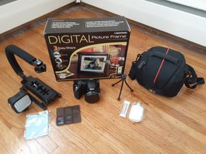 Nikon HD digital camera and accessories for Sale in Philadelphia, PA