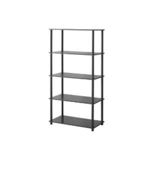 Mainstays No Tools Assembly 8-Cube Shelving Storage Unit, black oak 7A-1708 for Sale in St. Louis, MO