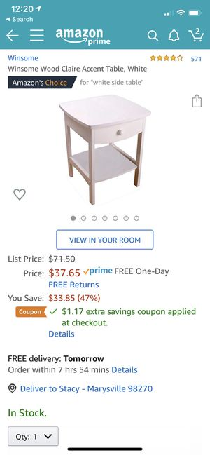(Two) end table night stands for Sale in Marysville, WA