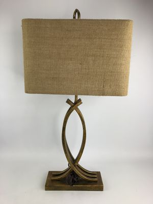Gold Living Room Decorative Lamp for Sale in San Antonio, TX