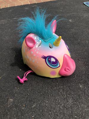 Kids unicorn bike helmet for Sale in Fairfax Station, VA