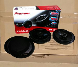 Pioneer Car Audio Speakers Set Pair 250watts 100db TS-G1645R 🚨 90 Day Payment Options Available for Sale in Los Angeles, CA
