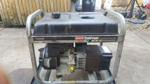Coleman 5000w generator for Sale in Melrose Park, IL