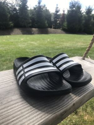 Adidas slide sandals for women. Size 5.5 (36 EUR) for Sale in Middleton, MA