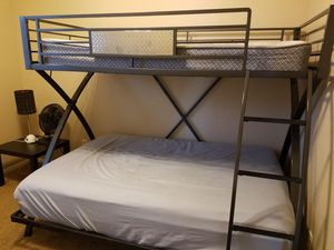 Metal frame bunk bed for Sale in Chandler, AZ