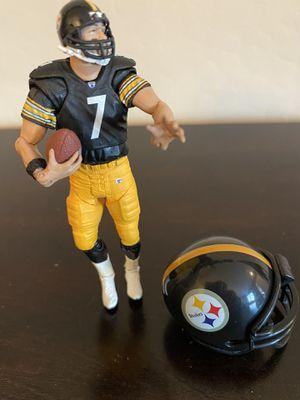 "Lot of 2 Pittsburgh Steelers 3"" Ben Roethlisberger Action Figure w/ Mini Helmet for Sale in Surprise, AZ"
