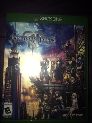 Kingdom of hearts 3 Xbox one for Sale in Houston, TX
