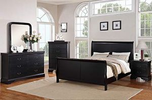 NEW IN BOX QUEEN SIZE SLEIGH BED FRAME (HEAD AND FOOT BOARD) for Sale in Hillsboro, OR