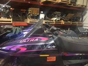 2 snowmobiles and trailer for Sale in Shelby charter Township, MI